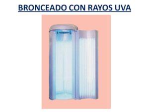 BRONCEADO CON RAYOS UVA