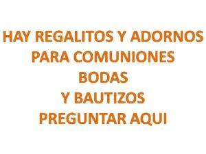 HAY REGALITOS Y ADORNOS